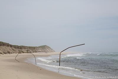 Heavy erosion, Sable Island