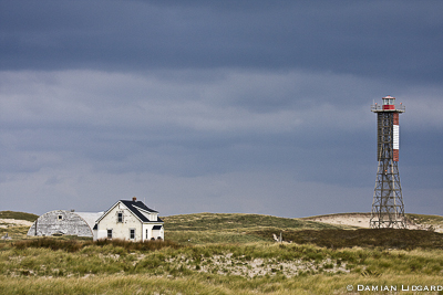 West Light camp, Sable Island