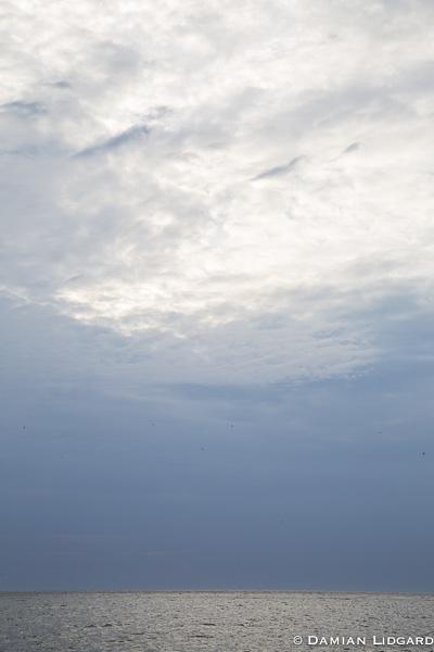 Sea, sky, Magdalen Islands